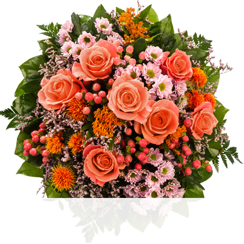 Blumenstrauß Orange