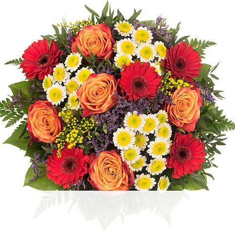 Blumenstrauß Liebe Grüße