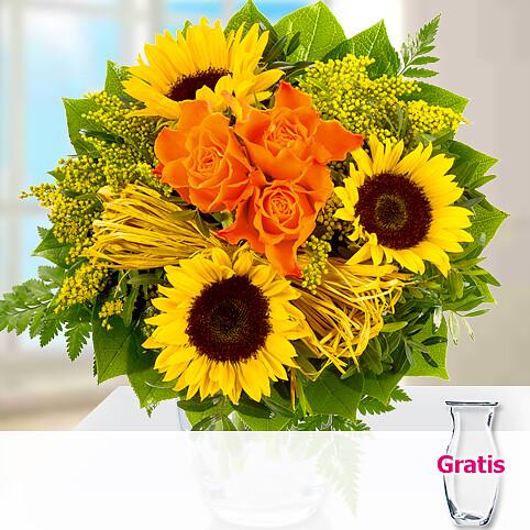 Blumenstrauß Sonnenkuss