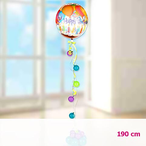 Riesenballon-Präsent Happy Birthday