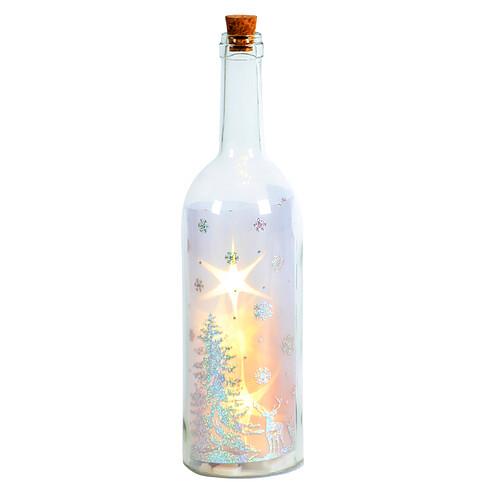 Deko-Glasflasche
