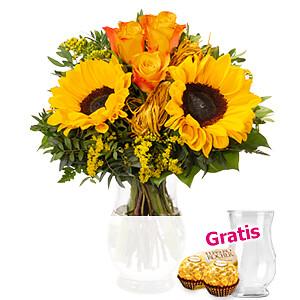 Blumenstrauß <br>Sonnenkuss