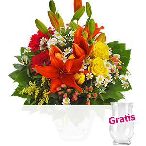 Strauß Blumen-<br>glück