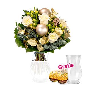 Blumenstrauß <br>Goldstaub