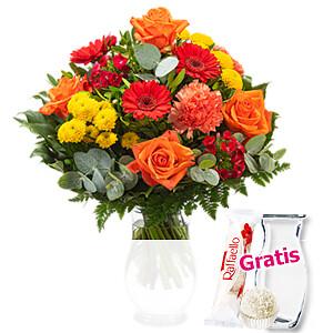 Blumenstrauß <br>Farbentanz