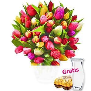 Tulpen <br>im Bund